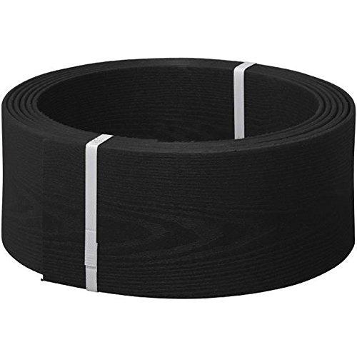 Easy Way Lámina delimitadora flexible para parterres, 13,5 cm de altura, color negro