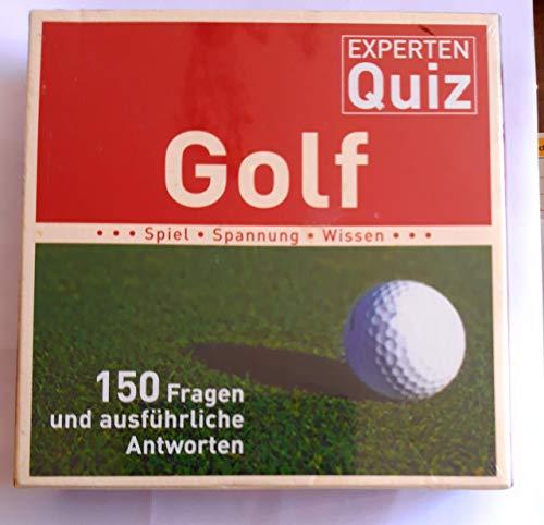 Golf Experten-Quiz (Kartenspiel). Von