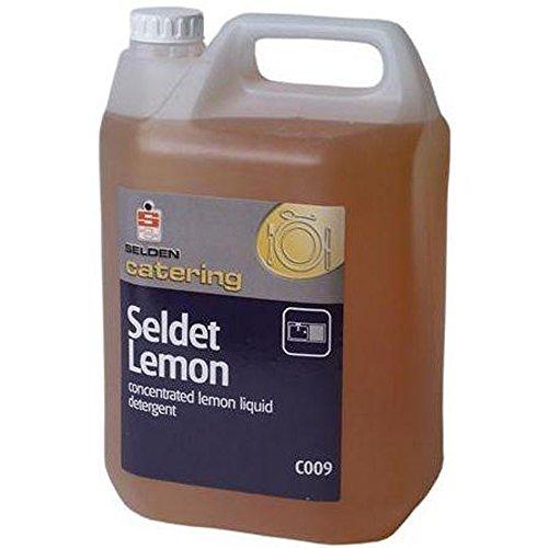 Selden bbs036–5 geconcentreerd wasmiddel vloeibaar, citroen, 5 l (4 stuks)