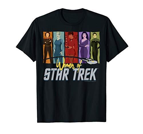 Star Trek Women Of Star Trek 5 Silouhette's Premium T-Shirt