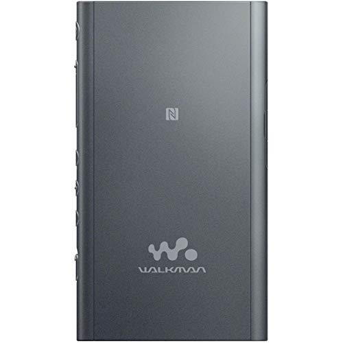 ソニーウォークマンAシリーズ16GBNW-A55:BluetoothmicroSD対応ハイレゾ対応最大45時間連続再生2018年モデルグレイッシュブラックNW-A55B