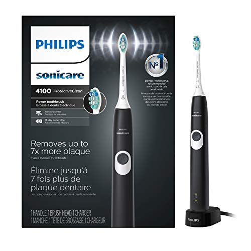 Philips Sonicare HX6810/50 ProtectiveClean 4100 Rechargeable Electric Toothbrush Black