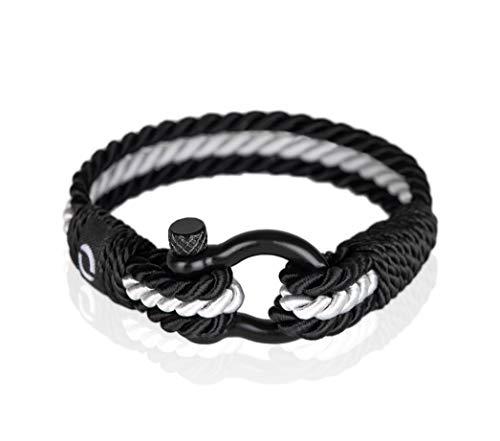 Mover Bracelets Pulsera Hombre | Accesorio Náutico Hecho para Hombre | Regalo Clásico De Cuerda Decorativa | Pulsera De Supervivencia