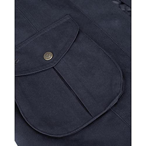 Hoggs of Fife Struther - Abrigo de campo para mujer, color azul marino, 8 azul marino, abrigos, chaquetas y