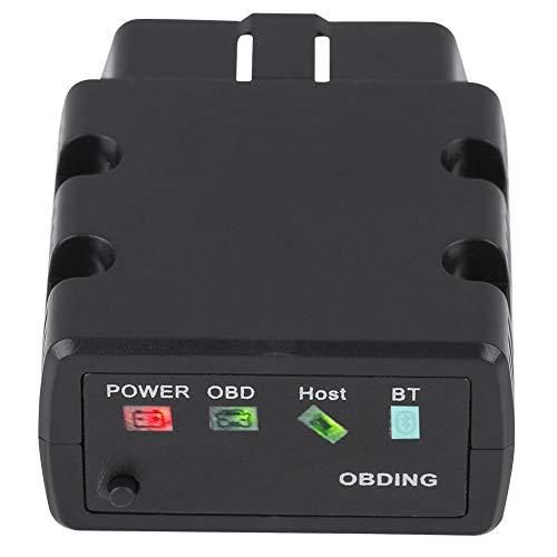 Scanner Bluetooth 3.0 OBDII KW902 OBDII Strumento diagnostico per scanner per auto Rilevamento guasti compatibile con Android Black(nero)