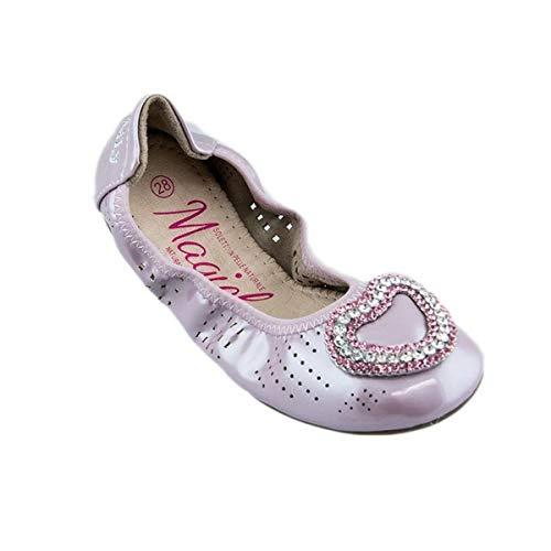 Kelly Lelli kinderschoenen, ballerina's, leer, roze, LK4104-AG52