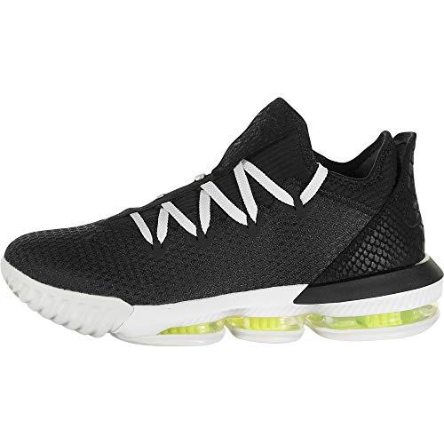 Nike Men's Lebron XVI Low Basketball Sneaker (Black/Black-Summit White-Volt, 10 M US)