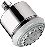 Best Hansgrohe Shower Heads - hansgrohe Clubmaster 4-inch Showerhead Easy Install Modern 3-Spray Review