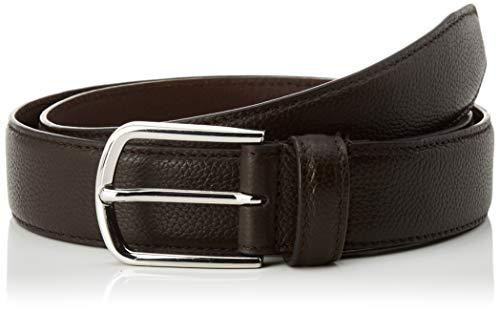 Cortefiel Cinturón Sport Piel Graba, Marrón (Marrón Oscuro 30), 100 (Tamaño del...