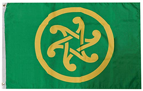 Trade Winds Pan Celtic Celticism 100D Premium Quality Heavy Duty Fade Resistant Woven Poly Nylon 2x3 2'x3' Flag Banner Grommets