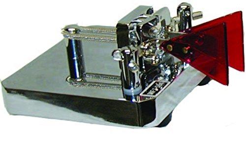 MFJ-564 Iambic Paddles for Morse Code, Chrome