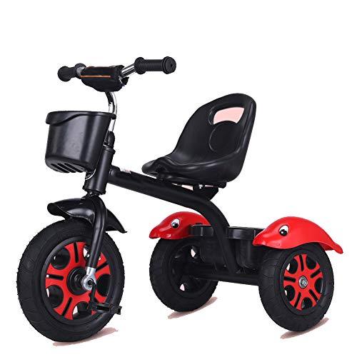 GIFT Premier Vélo Roue Molle Kids Tricycle Trike EVA, Siège Peut être Ajusté, Cadeau De Noël Nouvel an 2-6ans,G
