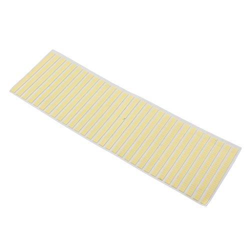 #N/A 黄色のリアングル付箋シートアドレスWtachステッカー自己粘着性