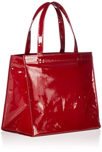 [キタムラ]ショッピングバッグ底板付きDH0281レディースレッド[赤]70701