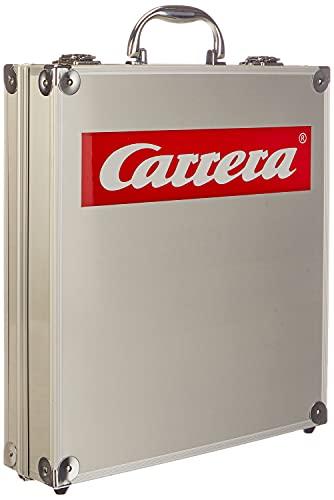 Carrera - Evolution: maletín para Coches, Color Aluminio (20070460)
