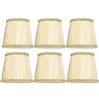 scheda paralume per camera da letto coprilampada da 6 pezzi accessorio per lampadina e14 ottone antico per salotti caffetterie corridoi sale hotel studi