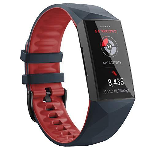 NotoCity Correa Compatible con Fitbit Charge 4 /Fitbit Charge 3/Fitbit Charge 3 SE Correa, Muñequera de Recambio Impermeable Fitness Correa Deportivo para Mujeres Hombres(Pizarra,L)