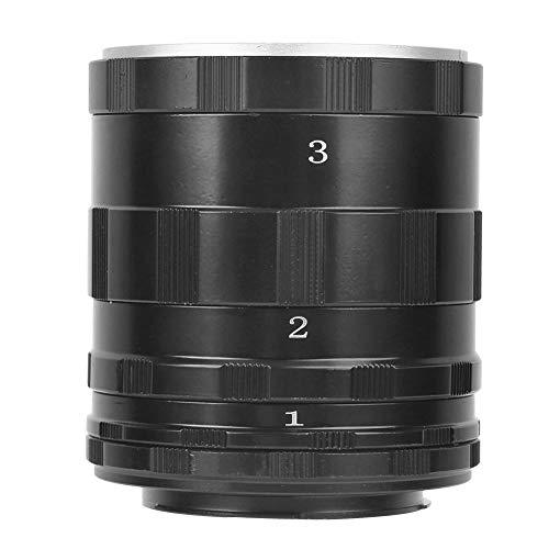 Topiky Juego de Tubos de extensión Macro, Lentes de fotografía de Enfoque Manual Anillos adaptadores de Primer Plano Macro para Nikon cámara sin Espejo