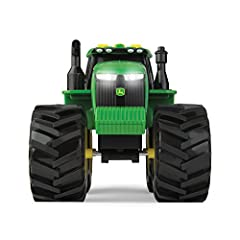 Idea Regalo - TOMY Monster Treads John Deere Trattore Luci e Suoni, Multicolore, 46656