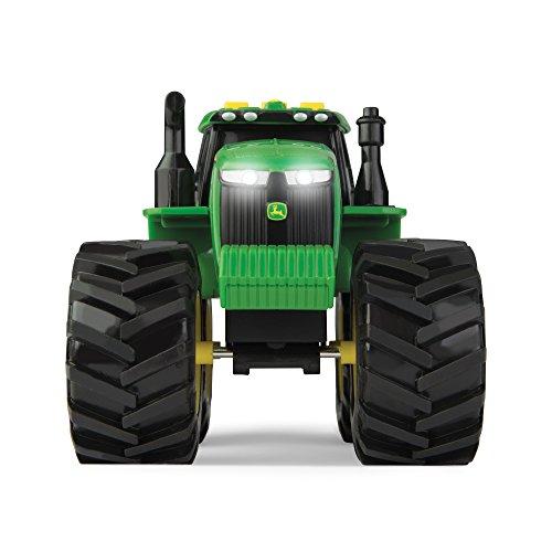 John Deere 46656 Traktor, Monster Treads mit Licht & Sound in Grün, Spielzeug Traktor mit Licht und Sound Effekten, Zum Spielen und Sammeln, Geschenke für Kinder, Spielzeug für Kinder ab 3 Jahren