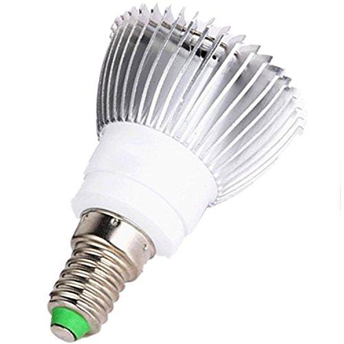 Viktion LED Pflanzenlampe E14 LED Pflanzenlicht SMD Growlicht LED-Pflanzen-Wachstumslampe 8W 9W 10W 12W für Obst Gemüse Pflanzen Innen-Gewächshaus Glashaus Blumen (8W)