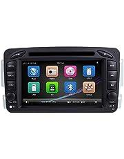 ZLTOOPAI do Mercedes Benz W209 W203 W168 W163 W463 Viano W639 Vito Vaneo seria podwójny dyn czołówka 7 cali pojemnościowy ekran dotykowy samochodowe stereo GPS radio z darmową kartą mapową kamera cofania samochodu