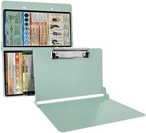 Mint Folding Nursing Clipboard Premium Aluminum Nurse Clipboard Foldable Nurses Folding Board product image