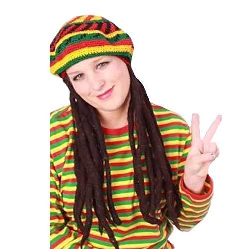 Muts - Bob Marley - Met dreadlocks