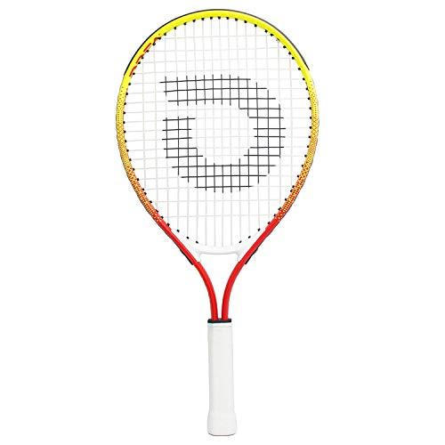 "Geelife Junior Tennis Racquet Carbon Tennis Racket for Beginner Youth Kids Girls Boys (4 3/8 "" Rainbow 21 inch)"