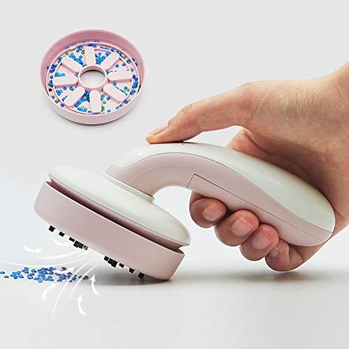 iDIY Diamond Painting Accesorios Mini Aspiradora de mano móvil más rápida Aspiradora ciclónica Potente Aspiradora para Oficina Hogar y Coche Rosa