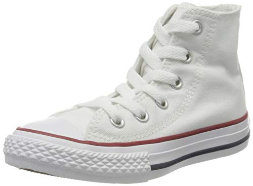 Converse Unisex-Kinder Chuck Taylor All Star 3J253C Fitnessschuhe, Weiß (Optical White 102), 27 EU
