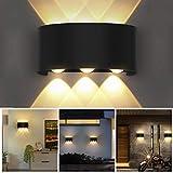 OUSFOT Aplique Pared Interior Lámpara de Pared IP54