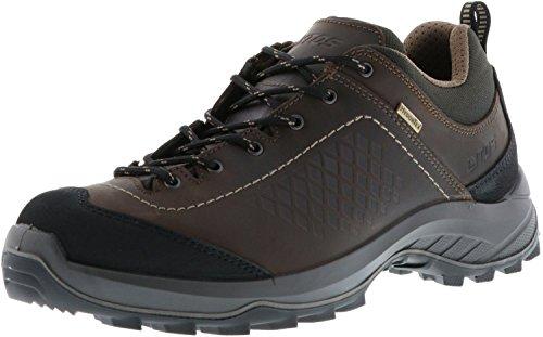 LYTOS Herren Wanderschuhe Trekkingschuhe braun/schwarz, Größe:44, Farbe:Braun