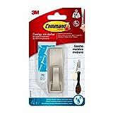 Prodotto Command 16821 Gancio Classico Metallico, Resistente All'Acqua, M, Argento, 1.3 kg