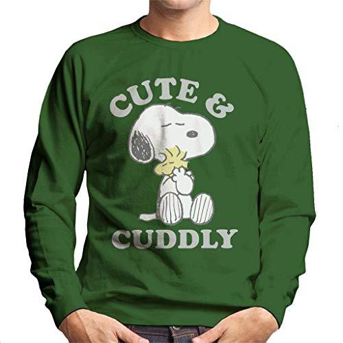 Peanuts Cute & Cuddly Snoopy heren sweatshirt
