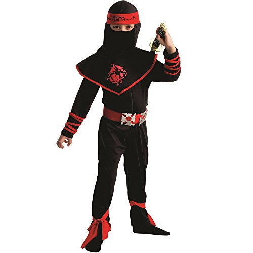 Dress Up America Traje de Guerrero Ninja de niños