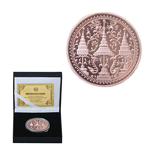 India,il Tibet,il Buddha,il Rame,i Missionari,Le Credenze,Le Monete,Oggetti da Collezione,Fine,Di Alta Qualità,Di Rilievo,Tridimensionali Sfida Moneta/Marrone/A