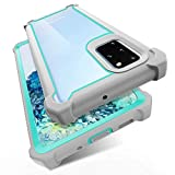 KSELF Case for Samsung Galaxy S20 Plus Case with Screen