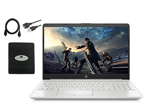 "2020 Newest HP 15.6"" HD Touchscreen Laptop, 10th Gen Intel Quad-Core i7-1065G7(Up to 3.9GHz, Beat i7-8565U), 16GB RAM, 512GB PCIe SSD, Intel Iris Plus Graphics, Backlit-KB, ,Win10, w/GM Accessories"