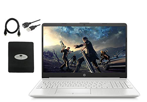 "2020 Newest HP 15.6"" HD Touchscreen Laptop, 10th Gen Intel Quad-Core i7-1065G7(Up to 3.9GHz, Beat i7-8565U), 16GB RAM, 512GB PCIe SSD, Intel Iris Plus Graphics, Backlit-KB, ,Win10, w/GM Accessories"
