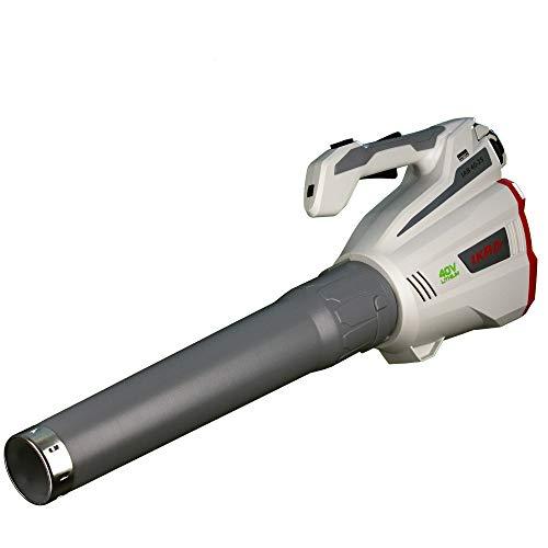 IKRA Akku Laubbläser IAB 40-25, ergonomisch, Blasgeschwindigkeit maximal 320 km/h, 40 V Lithium-Ion Laufzeit bis zu 60 Minuten