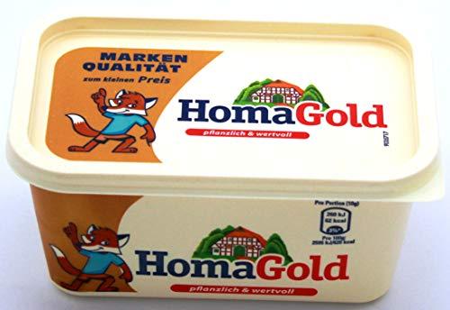 Homa Gold Margarine, 2er Pack (2 x 500g)