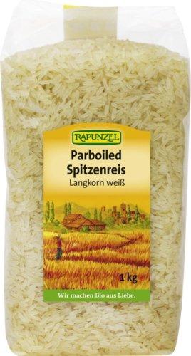 Rapunzel Parboiled Spitzenreis Langkorn, weiß, 2er Pack (2 x 1 kg)