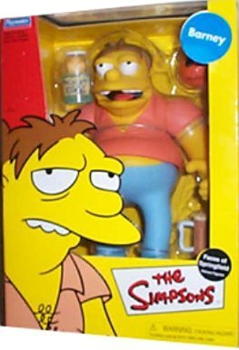 Simpsons - Barney (Gumble) - 9 Faces of Springfield Deluxe Figure (Playmates) by Simpsons