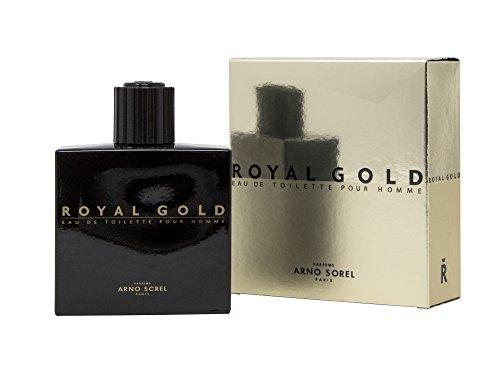 Duftwasser Royal Gold für Herren, 100 ml - DER KÖNIG IST DA!