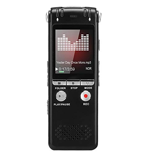 Grabadoras de Voz Digitales Con USB, Reducción de Ruido Reproductor de Mp3...