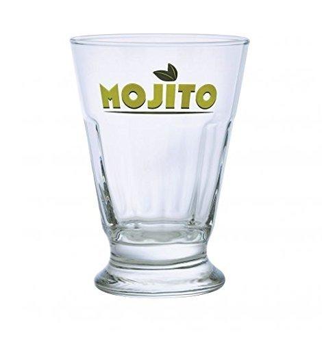 Durobor 81709 Lot de 6 Verre Mojito Sambaya 40cl, Transparent, 1 x 1 x 13 cm