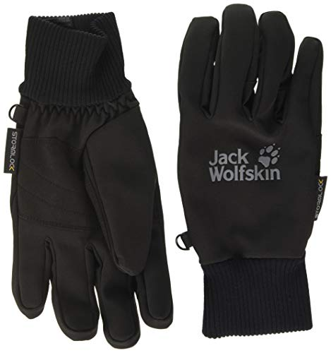 Jack Wolfskin Unisex-Adult Stormlock Supersonic Xt Glove, Black, XL