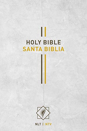 Bilingual Bible / Biblia bilingüe NLT/NTV (Spanish Edition)