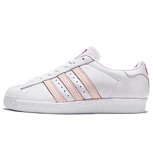 adidas Herren Superstar 80s CNY Fitnessschuhe, Weiß Ftwbla Ftwbla Escarl 000, 44 EU